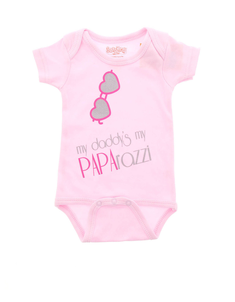 Paparazzi Girl 0-6 Months Pink