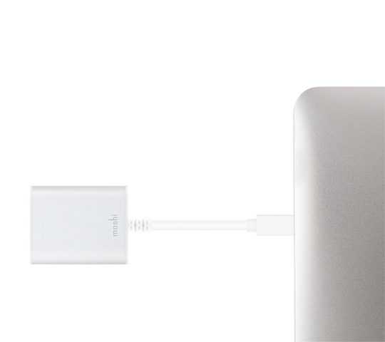 Moshi Mini Display Port To Hdmi Adapter 4K Silver