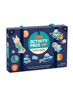 Mudpuppy Outer Space Activity Pack To Go