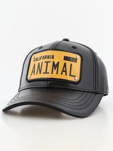 08dd464cf23 Raqam California Plate No. Animal Model 1 Black Unisex Cap