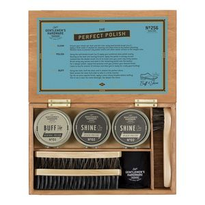 Gentlemen's Hardware Shoe Shine Cigar Box