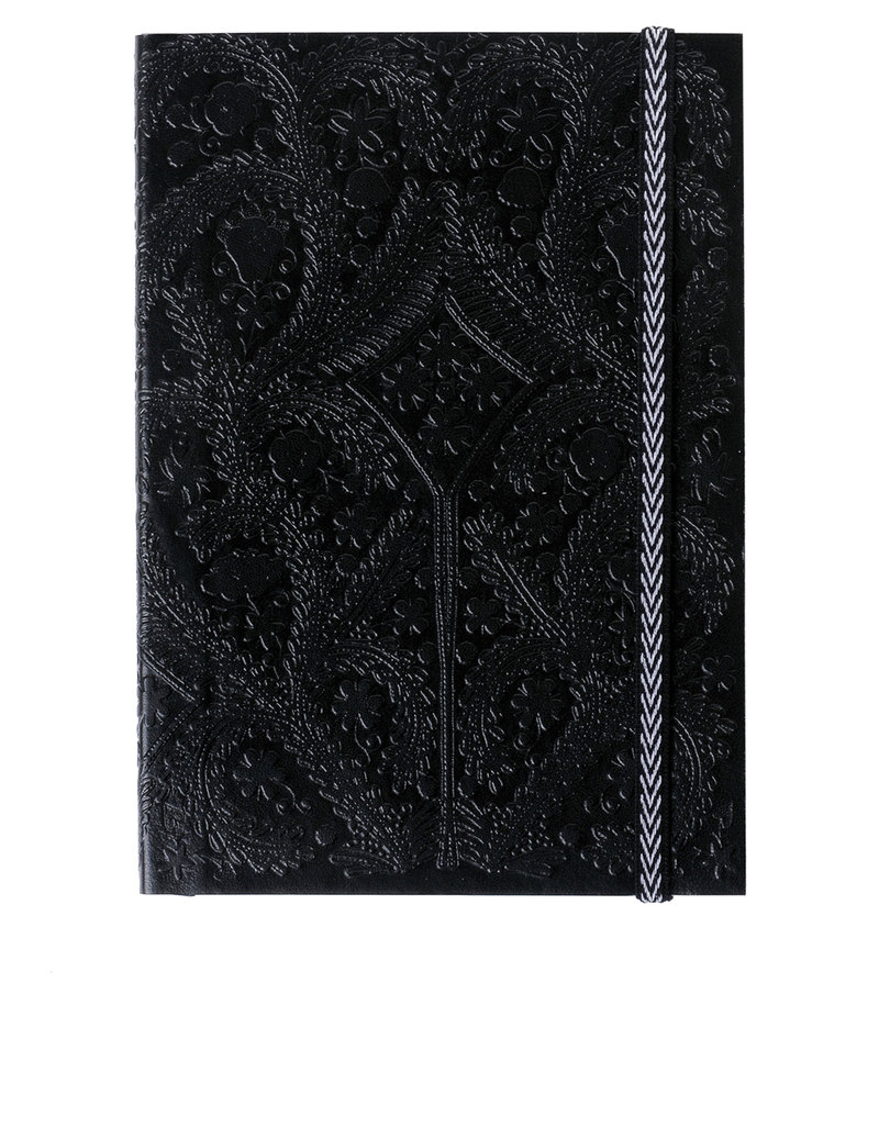Libretto A5 Paseo Embossed Layflat Notebook Black