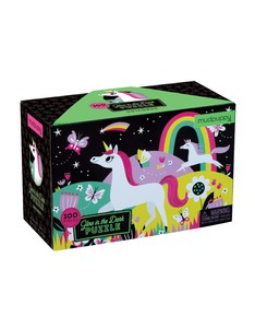 Mudpuppy Unicorn Glow-in-the-dark Puzzle