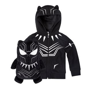 Cubcoats Marvel's Black Panther Unisex 2-In-1 Hoodie