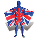 Flag Morphsuits Uk Flag Unisex