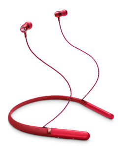JBL LIVE 200BT Red Wireless Neckband In-Ear Earphones