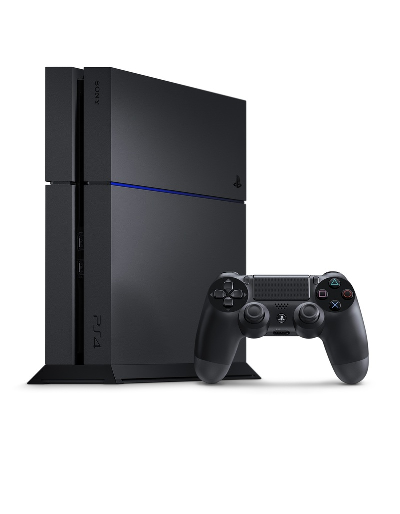 Sony PS4 500GB Jet Black Console