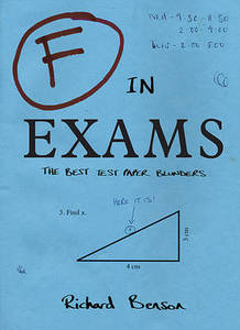 F In Exams The Very Best Totally Wrong Test Answers
