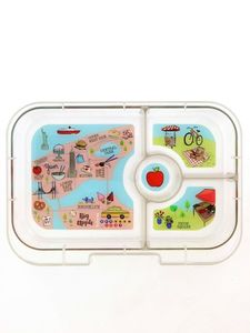 Yumbox Tray NYC Lunch Kit [4 Compartments]