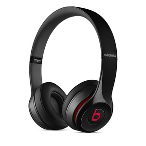 Beats Solo 2 Wireless Black On-Ear Headphones