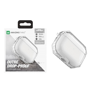 Amazing Thing Outre Drop-Proof Protective Case Crystal for AirPods Pro