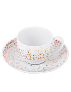 Silsal Design Accents Espresso Cup Coral
