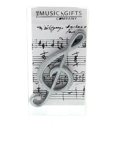 Music Gifts Company Treble Clef Magnet
