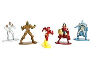 Nano Metalfigs DC Comics S1 Die-Cast Figures [5 Pack]