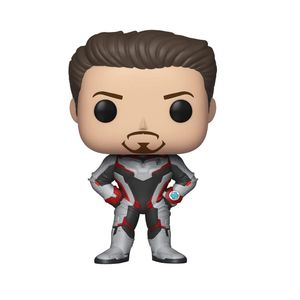 POP Avengers End Game Tony Stark Team Suit Vinyl Figure