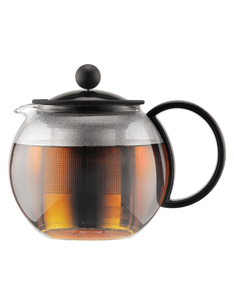 Bodum Assam Tea Press 0.5L Stainless Steel Filter Black