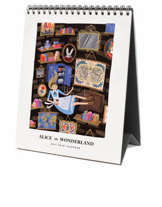 Rifle Paper Co 2017 Alice In Wonderland Desktop Calendar