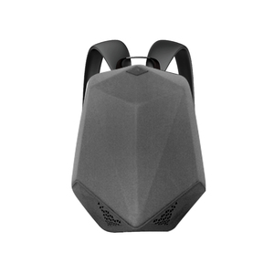 BRAVE BLUETOOTH SPEAKER BACKPACK WITH 5000MAH POWER BANK NYLON ARMY GREY