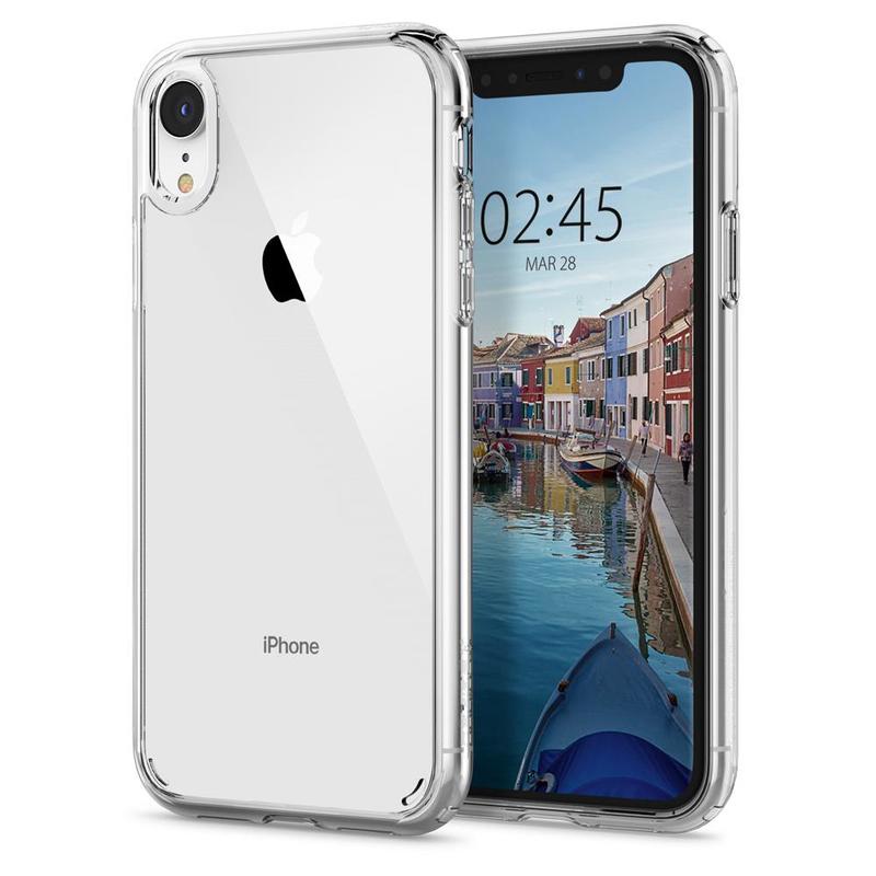 premium selection 801ee 5139f Spigen Ultra Hybrid Crystal Clear Case for iPhone XR