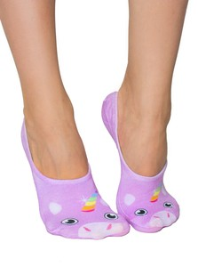 Living Royal Unicorn Women's Liner Socks
