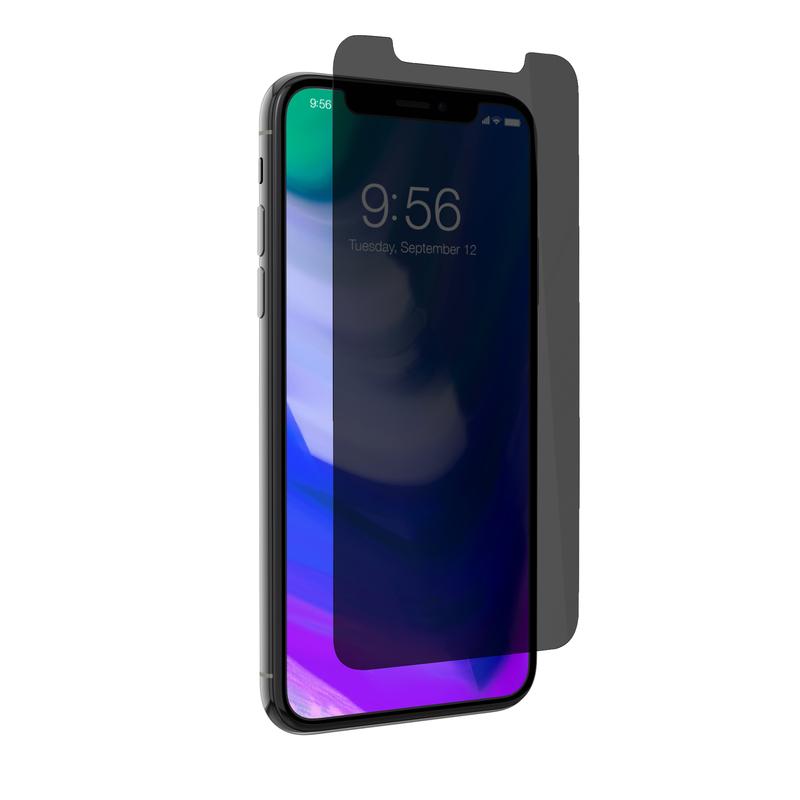 new arrival 89879 24e29 Zagg Invisible Shield Glass Plus Privacy Case Friendly Screen Protector for  iPhone X