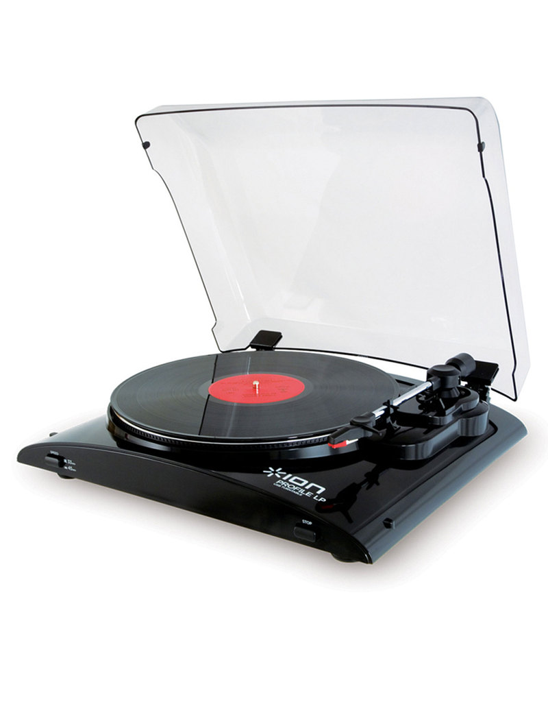 ION USB Turntable with Universal Dock for iPhone/iPad