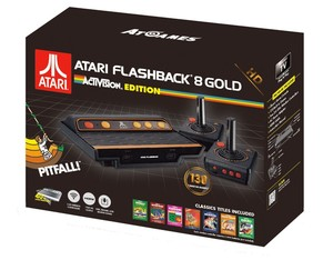 Atari Flashback 8 Gold HD Activision Edition with 130 Built-In Games