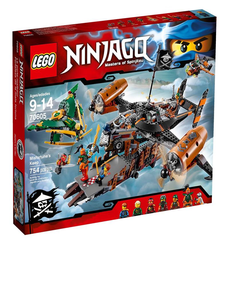 Lego ninjago misfortune 39 s keep 70605 building blocks - Ninjago en arabe ...