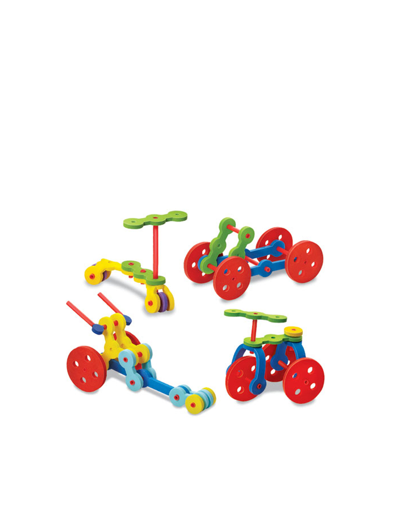 4M Art Creative Straw Kit Vehicles
