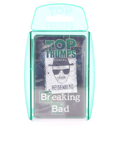 Top Trumps Breaking Bad Card Game English & Arabic