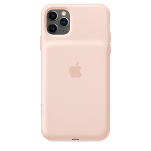 Apple Smart Battery Case with Wireless Charging Pink Sand for iPhone 11 Pro Max