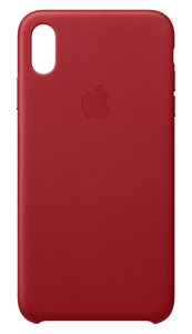 APPLE LEATHER CASE (PRODUCT)RED FOR IPHONE XS MAX