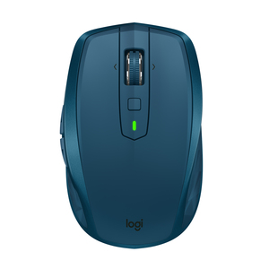 Logitech MX Anywhere 2S RF Wireless + Bluetooth Mouse Blue [Right-handed]
