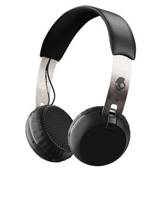 Skull Candy Grind Black/Chrome/Black Wireless On-Ear Headphones
