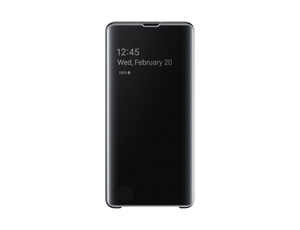 Samsung B2 Clear View Cover Black for Galaxy S10+