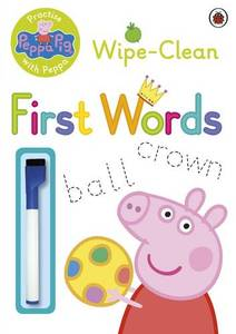 Peppa Pig Practise With Peppa Wipe-Clean First Words Pb