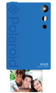 Polaroid Mint Instant Digital Camera Blue
