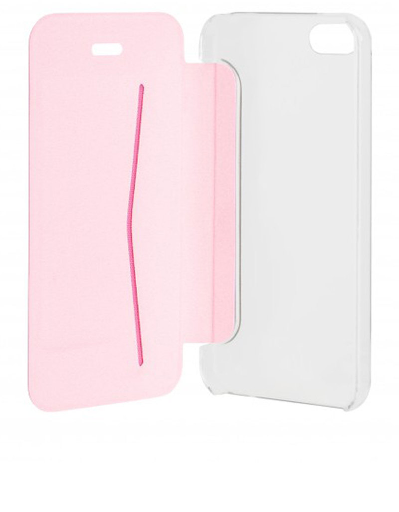 xqisit adour flap cover rose gold iphone se cases. Black Bedroom Furniture Sets. Home Design Ideas