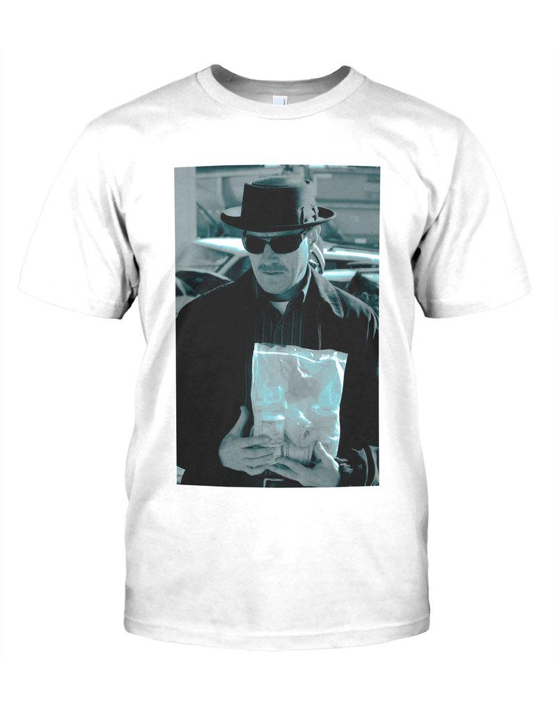 c7e208953 Hybris Breaking Bad Heisenberg Money Bag White Men's T-Shirt | Tops & T- Shirts | Men | Fashion | Virgin Megastore