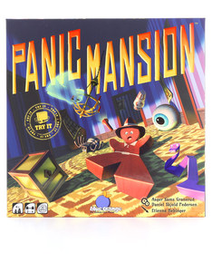 Blue Orange Panic Mansion Green Board Game