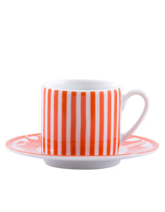 Silsal Kufic Retro Espresso Set Orange