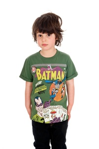 DC Comics Batman Riddler Green Boys T-Shirt