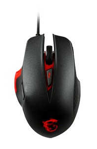 MSI Interceptor DS300 Black Gaming Mouse