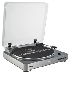 Audio Technica AT-LP60-USB Belt-Drive Stereo Turntable