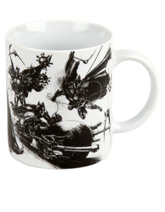 Konitz Batman Drawing Dark Knight 330ml Mug
