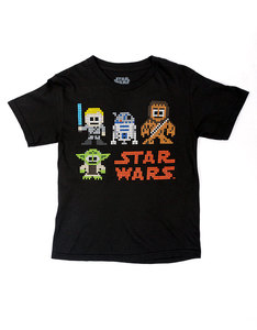 Mad Engine Star Wars Good Sprites Black Youth T-Shirt