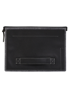 Patchworks Cow Leather Sleeve Black iPad Pro 12.9