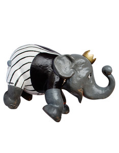 Elephant Parade Crowned Elephant Figurine 15cm