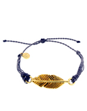 Pura Vida Bracelets Gold Feather