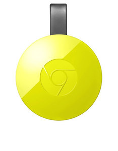 Google Chromecast 2 Streaming Media Player Lemonade